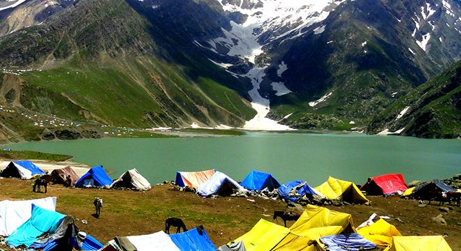 Image result for sheshnaag lake